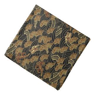 Oriental Sea Dragon Pattern Bandana