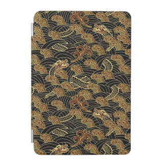 Oriental Sea Dragon Pattern iPad Mini Cover