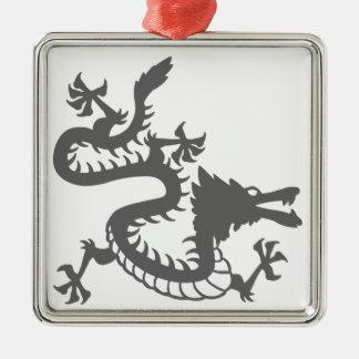 Oriental Style Dragon Christmas Ornament