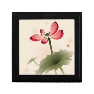 Oriental style Lotus Gift Box