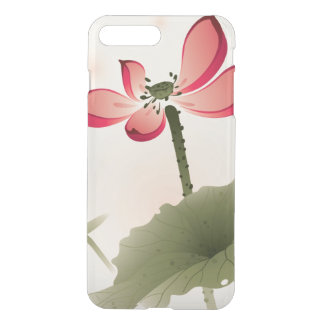 Oriental style Lotus iPhone 8 Plus/7 Plus Case