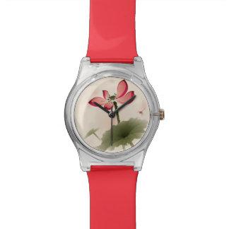 Oriental style Lotus Wrist Watches
