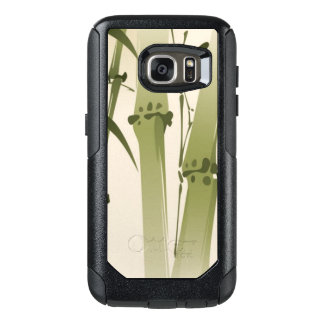 Oriental style painting, bamboo branches 2 OtterBox samsung galaxy s7 case