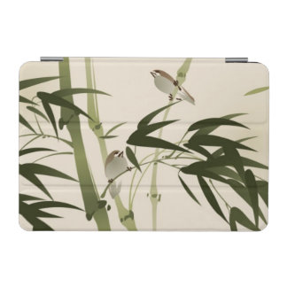 Oriental style painting, bamboo branches iPad mini cover
