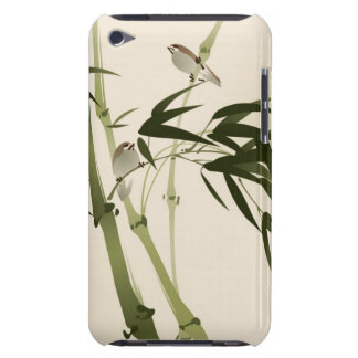 Oriental style painting, bamboo branches iPod touch Case-Mate case