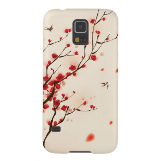 Oriental style painting, plum blossom in spring 2 case for galaxy s5