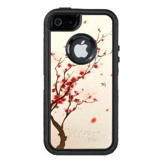 Oriental style painting, plum blossom in spring 2 OtterBox iPhone 5/5s/SE case