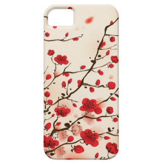 Oriental style painting, plum blossom in spring case for the iPhone 5