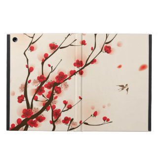 Oriental Style Painting Plum Blossom in Spring Cover For iPad Air