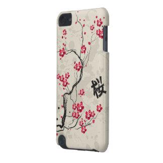 Oriental Style Sakura Cherry Blossom Art iPod Touch (5th Generation) Cover