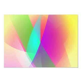 Oriental Sunrise 13 Cm X 18 Cm Invitation Card