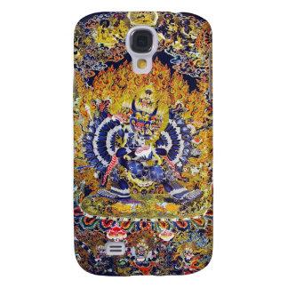 Oriental thangka Yamantaka death god tattoo Galaxy S4 Case