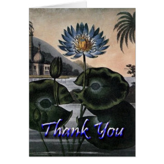 Oriental Thank You Card