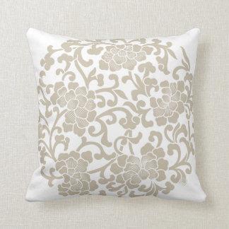 Oriental Vintage Pattern Decorative Pillow