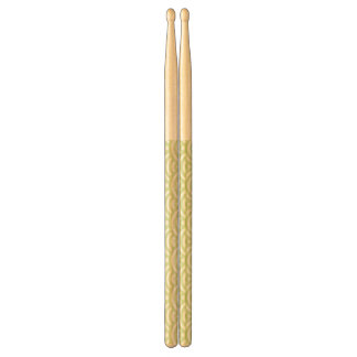 Oriental wave background drumsticks