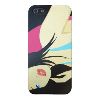 Oriental Woman Pop Art iPhone Cover For iPhone 5/5S