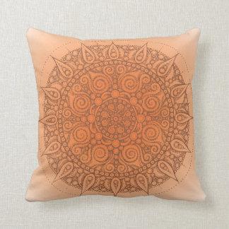 Oriental Yoga Pillow orange/brown