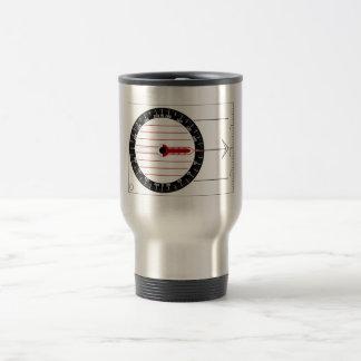 Orienteering Compass Stainless Steel Travel Mug