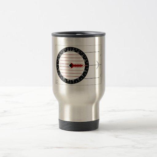 Orienteering Compass Mug