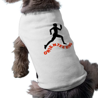 Orienteering Sleeveless Dog Shirt