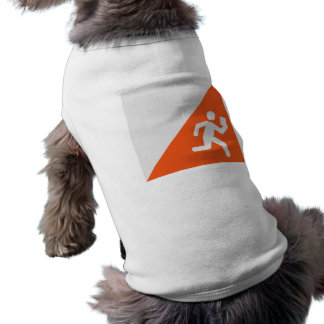 Orienteering Sleeveless Dog Shirt