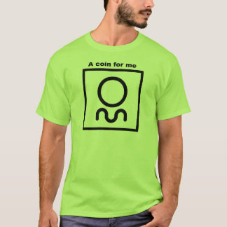 Orienteering T-Shirt.  A coin for me T-Shirt