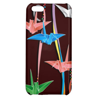 Origami cranes cover for iPhone 5C
