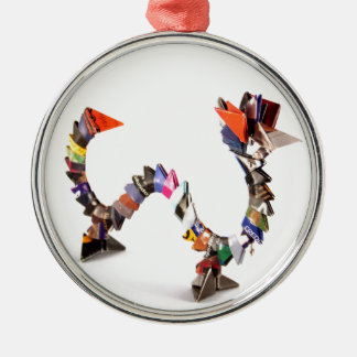 Origami Dragon Christmas Ornament