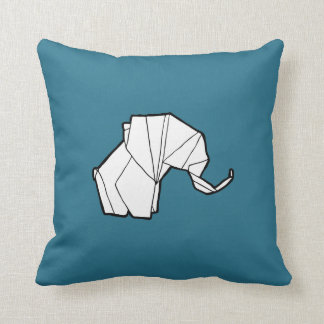 Origami Elephant Pillow