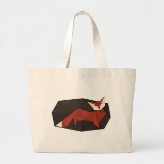 Origami Fox Jumbo Tote