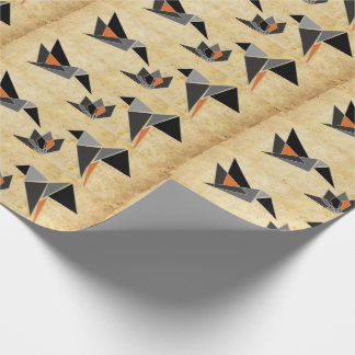 Origami-inspired Matte Wrapping Paper 30 in x 6 ft