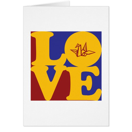 Origami Love Card