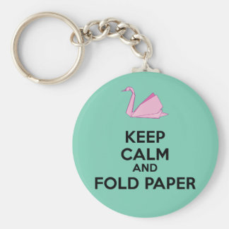 Origami lover! key ring