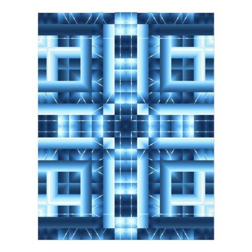 Origami Paper Blues Customizable Hobby Art Custom Flyer