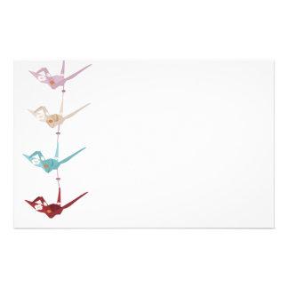 Origami paper crane Stationery