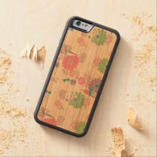 Origami Paper Cranes and Flowers Cherry iPhone 6 Bumper
