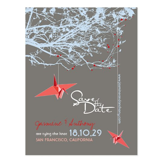 Origami Paper Cranes Tree Zen Photo Save The