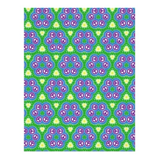 Origami Paper Green Blue Customizable Hobby Art Flyer