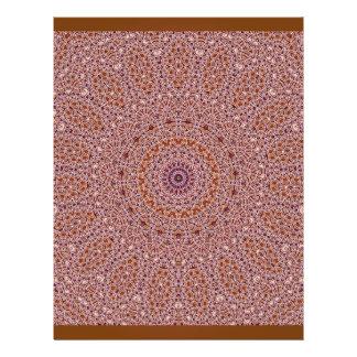 Origami Paper Purple Brown Customizable Hobby Art 21.5 Cm X 28 Cm Flyer