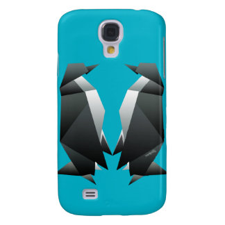 'Origami Penguins' Galaxy S4 Case
