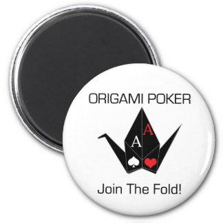 Origami Poker Card Protector/Magnet! Magnet
