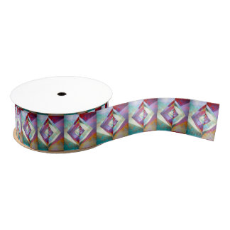 Origami Sky Ribbon Grosgrain Ribbon