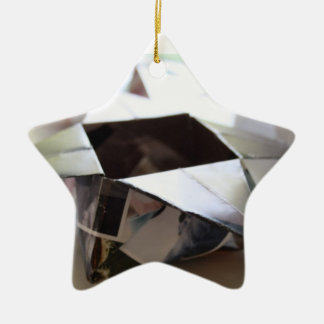 Origami Star Box ornament