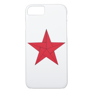 Origami Star – Red iPhone 7 Case