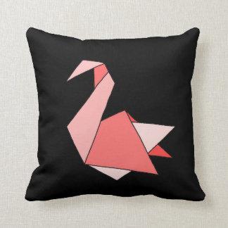 Origami Swan Cushion
