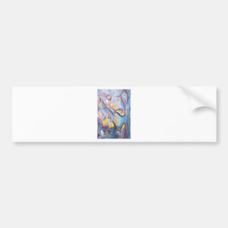 Origin of Species (abstract expressionism) Bumper Sticker