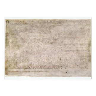 ORIGINAL 1215 Magna Carta British Library Card