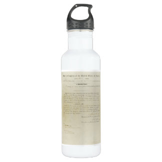 ORIGINAL 15th Amendment U.S. Constitution 710 Ml Water Bottle