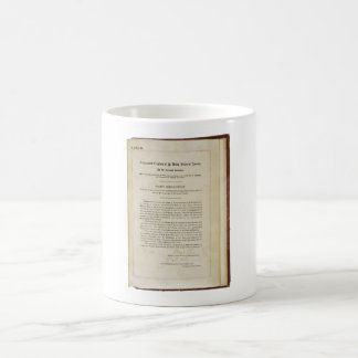 ORIGINAL 17th Amendment U.S. Constitution Basic White Mug