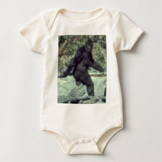 ORIGINAL 1967 BIGFOOT SASQUATCH PHOTO BABY BODYSUIT